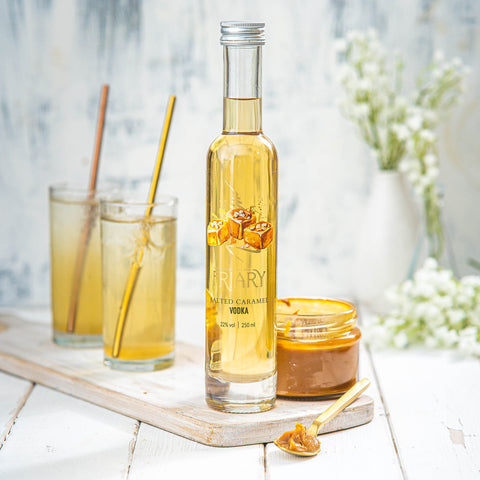 Salted caramel vodka