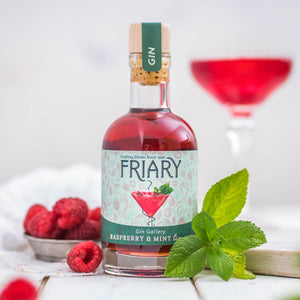 Raspberry and Mint Liqueur - Gin