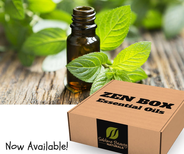 ZEN BOX, Monthly Essential Oils, Now Available