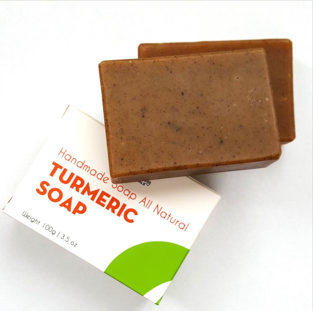 New All-Natural TURMERIC SOAP 3.5 oz