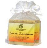 Fresh LEMON CINNAMON Soaps (2) 1.2 oz each
