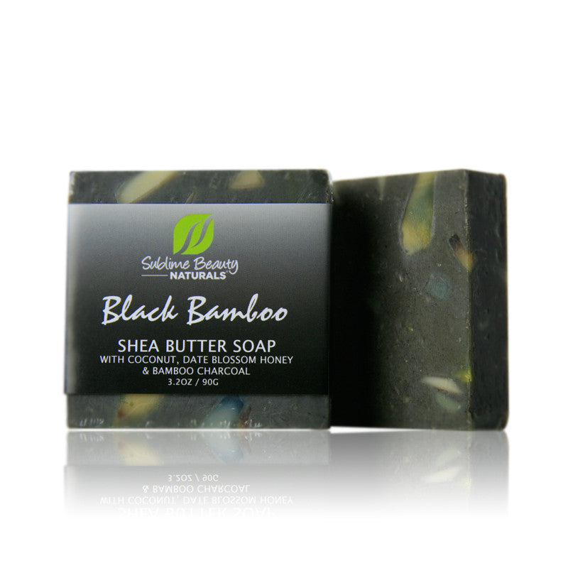 Three Exotic Shea Butter & Essential Oil Soaps (1.2 oz each)