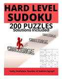 Sudoku Hard Level Advanced with Solutions
