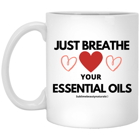 Certified Essential Oil Addict Coffee Mug.