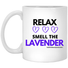 Relax and Smell the Lavender Mug