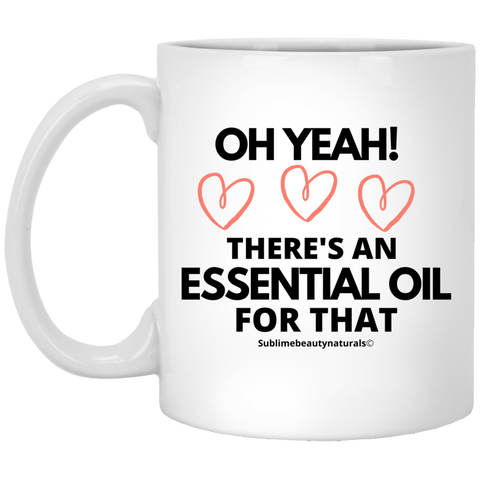 Keep Calm and Smell the Essential Oils Mug