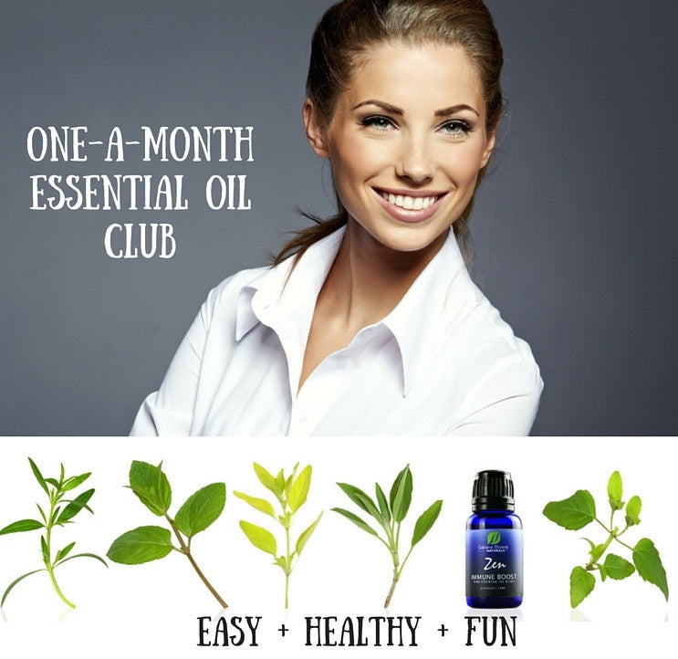 ONE-A-MONTH ESSENTIAL OIL CLUB