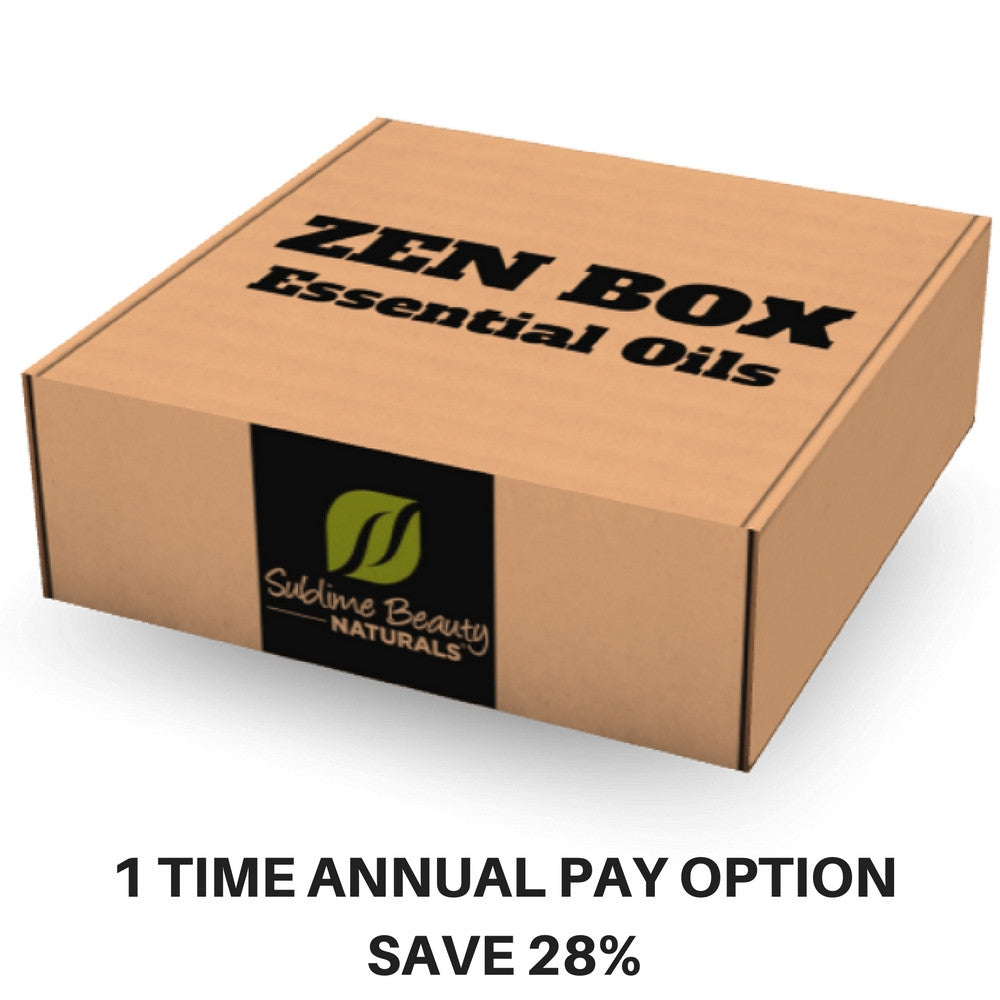 ZEN BOX - Bi Monthly SUBSCRIPTION BOX **ANNUAL Pay**