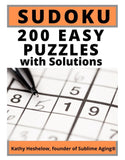 Sudoku Easy Level with Solutions