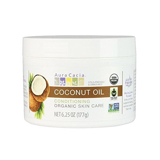 Organic COCONUT OIL 6.25 Oz