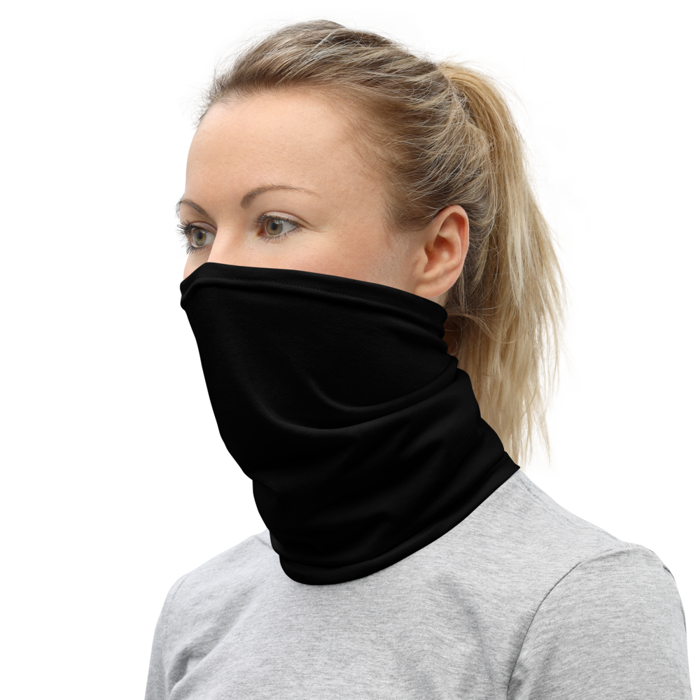 Black Neck Gaiter and Mask, Versatile