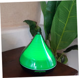 New ULTRASONIC MIST DIFFUSER with Changing LED Lights Black Base