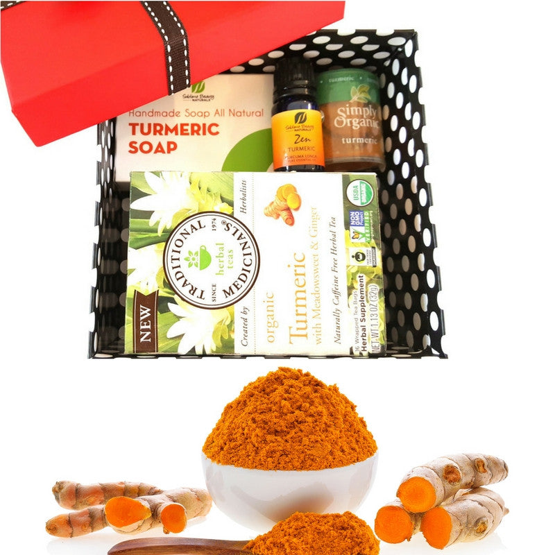 TURMERIC LOVERS GIFT BOX BUNDLE