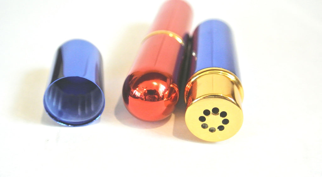 Aromatherapy Inhaler (2 - Blue & Red)