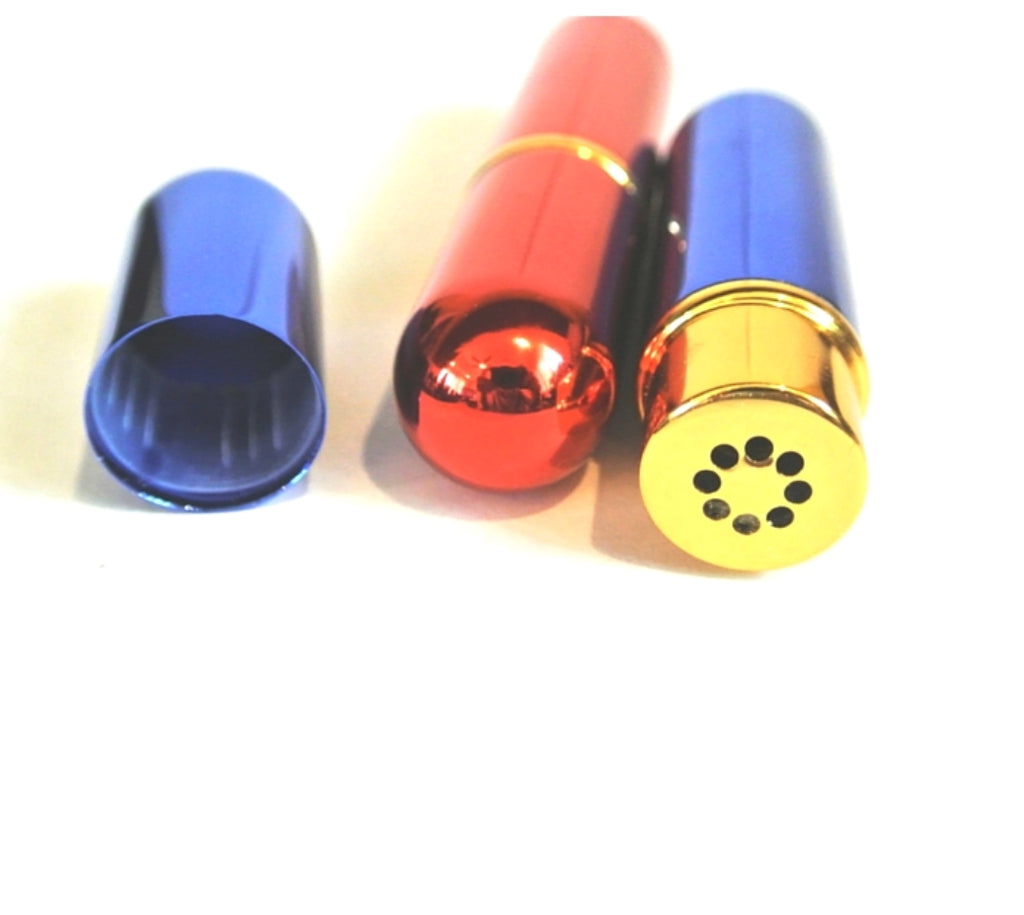 **NEW** Aromatherapy Essential Oil INHALER Various Colors Black, Silver, Red, Neon, Spring Green, Blue and More
