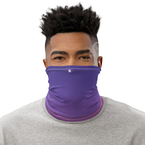 Face Mask Neck Gaiter Water Swirl