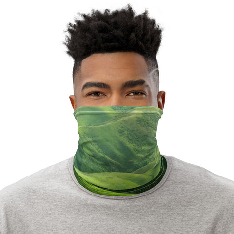 Face Mask Neck Gaiter Cool Spring Pool Water