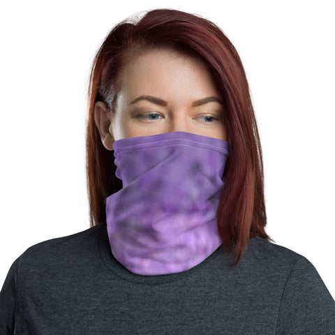 Face Mask Neck Gaiter Discrete Time and Clocks