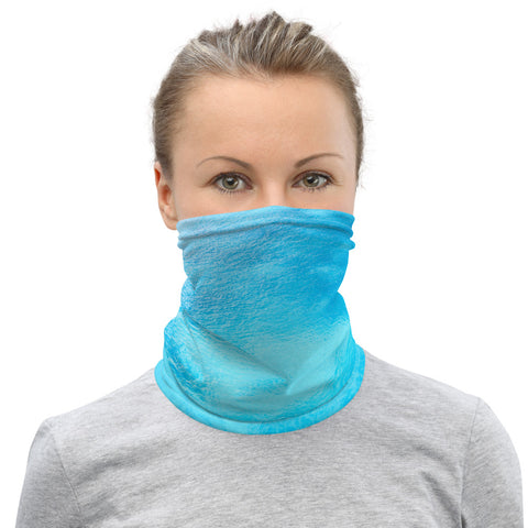 Facial Mask Neck Gaiter Lavender Fields