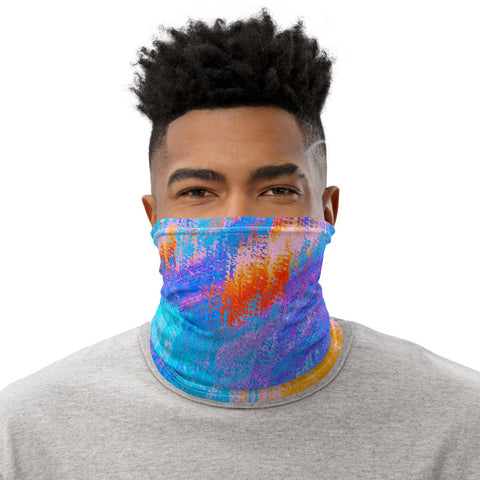 Face Mask Neck Gaiter in Lemon Yellow