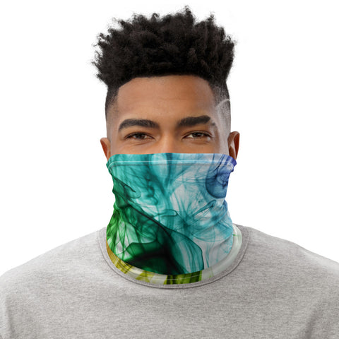 Face Mask Neck Gaiter Spring Green