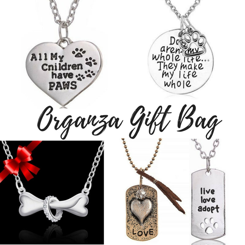 Dog Lovers Set of 5 Necklaces in Gift Bag