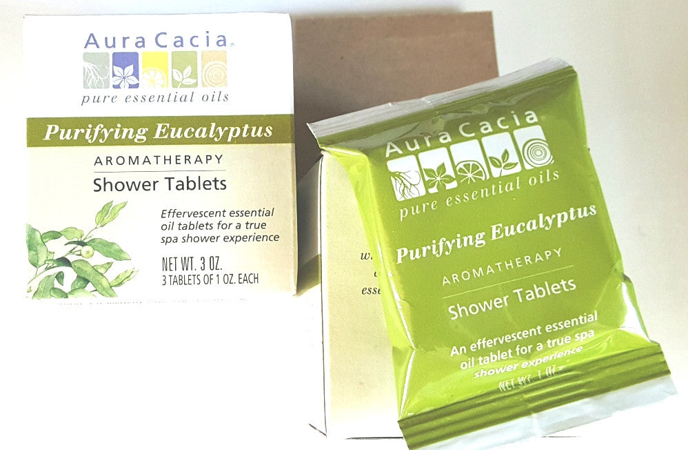 Eucalyptus Purifying Shower Spa Tablets (3 per box)