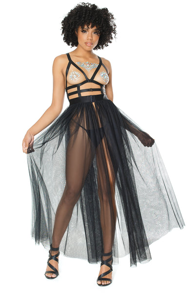 Break Free Strappy Cage Dress
