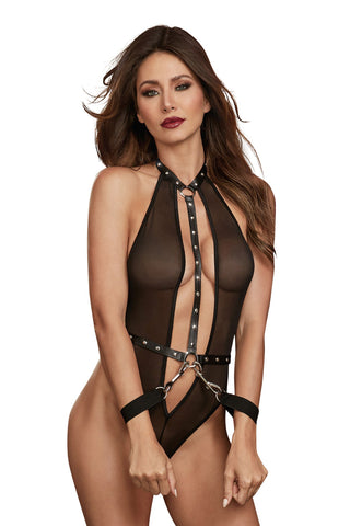 Playhouse Mesh Teddy with Restraints