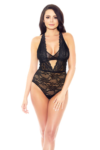 Layers of Lace Plunge Teddy