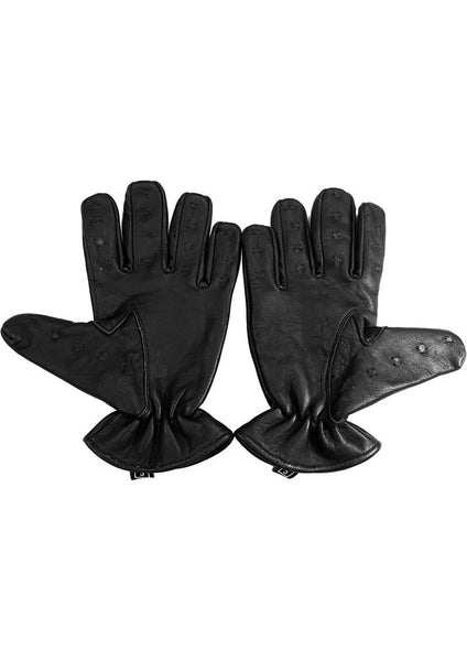 Sheepskin Leather Vampire Gloves