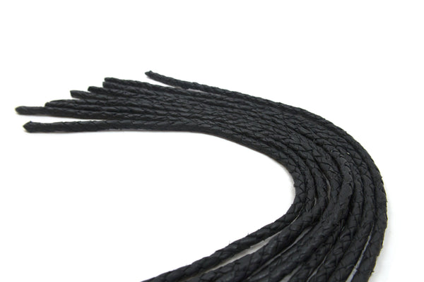 Bound Collection Black Knight Braided Flogger Attachment