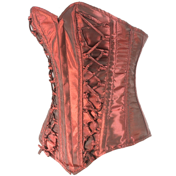 Burgundy Silk Road Corset
