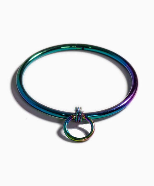 Bound Steel Day Collar in Rainbow