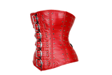 The Sound and the Fury Red Leather Corset