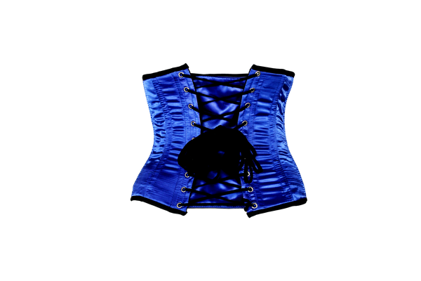 Nobody's Fool Waist Cincher in Blue