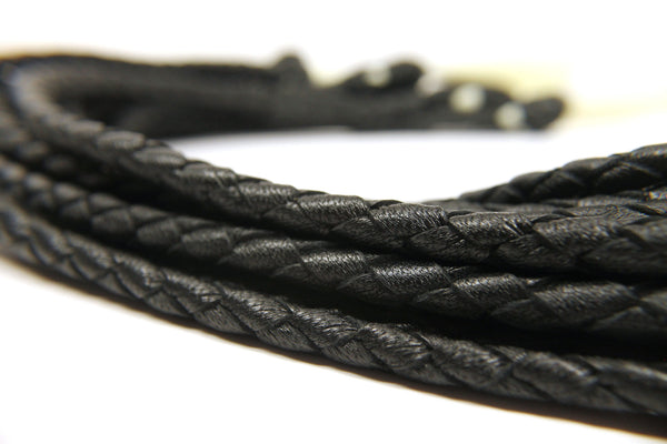 Bound Collection Giddy Up Braided Flogger Attachment