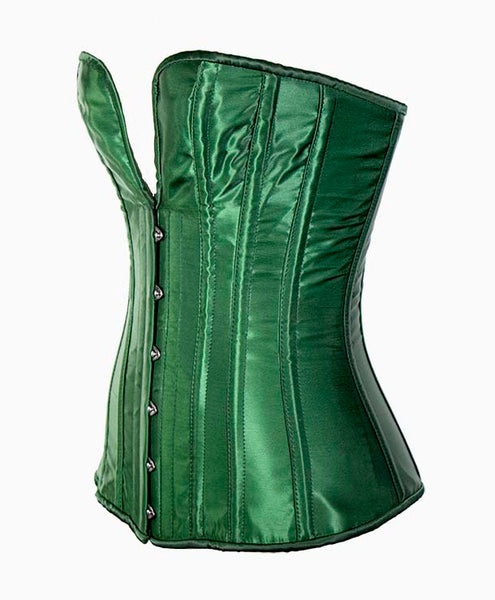 Midnight Corset in Green