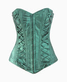 Silk Road Corset in Green