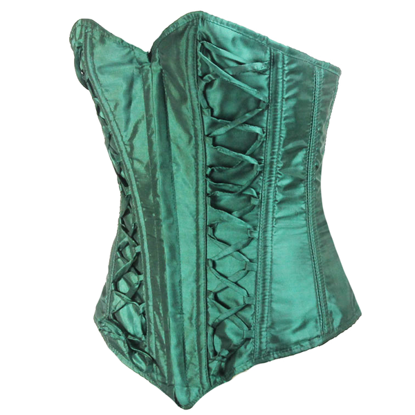 Green Silk Road Corset