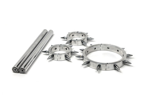 Bound Lock Down Series Pillory Set with Spikes