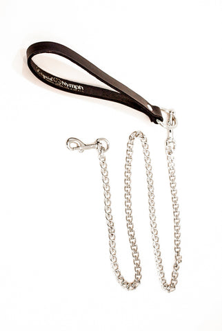Liquid Nymph Chain & Leather Leash