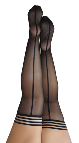 Kixies Lois Backseam Thigh Highs