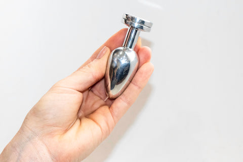 Small Aluminum Butt Plug by Bound Collection