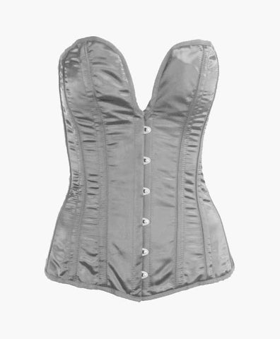 Silver Midnight Corset | Lotus Blooms Alexandria Virginia