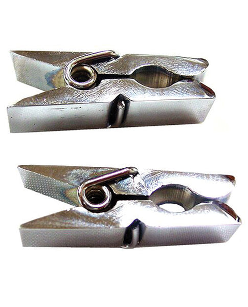 Chrome Clothespin Nipple Clamps