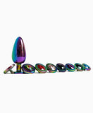 Small Bound Collection Weighted Steel Rainbow Plugs