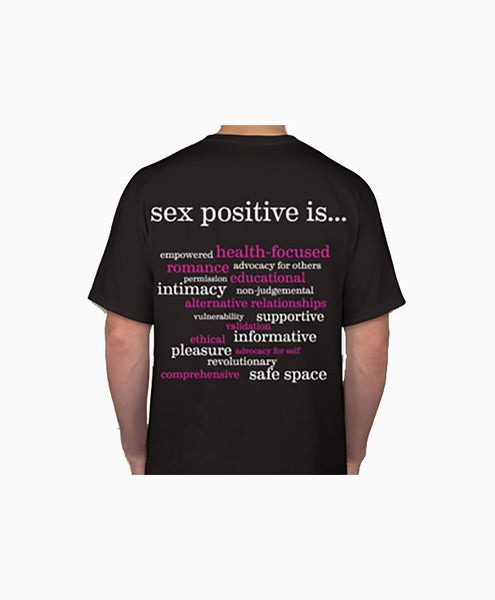 Lotus Blooms Sex Positivity T-Shirt (Plus Size)