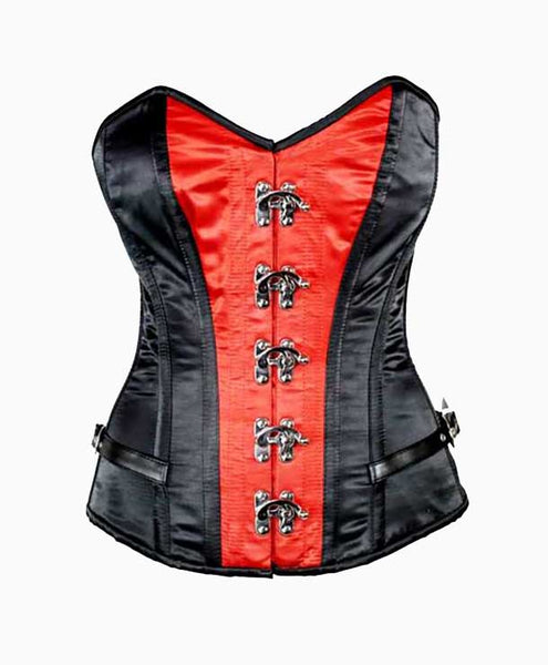 Red Tempest Corset | Lotus Blooms Alexandria Virginia
