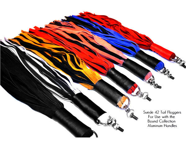 Bound Collection Suede Falls Flogger Attachment